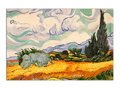 Cuadro pintura al oleo realizada a mano sobre lienzo montada sobre bastidor estetico