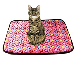 TXDIRECT Dog Mat Cat Mat Kitten Bed Dog Bed Puppy Bed Dog Bed Accessories Dog Crate Bed Fluffy Cat Mat Dog Crate Mat Washable Dog Bed Puppy Mats