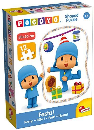 Giochi 65974.0–Pocoyo Puzzle Recorte–Festa