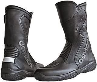 Daytona Spirit Gore Tex Black Leather Motorcycle Boot Size EU43, UK9