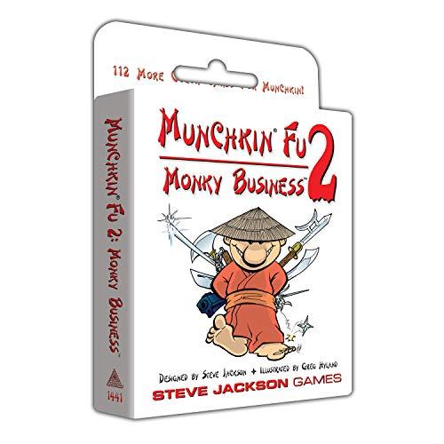 Steve Jackson Games SJG01441 Kartenspiel Munchkin Fu 2: Monky Business