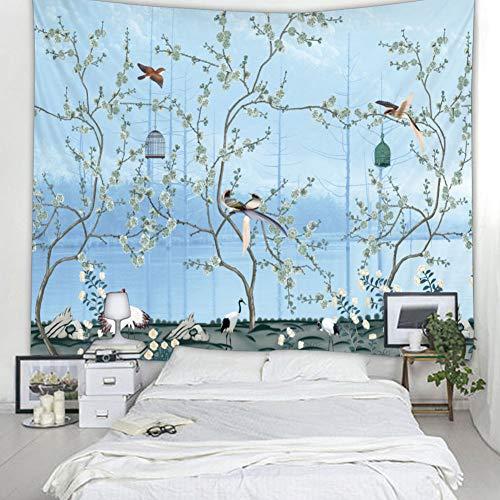Ongoion Wandbehang, 3D-Stereo-Effekt, Polsterung, bedruckt, Fenster aus Polyester, zum Aufhängen für Sofa-Sofa-Kopfteil (150 x 200 cm)