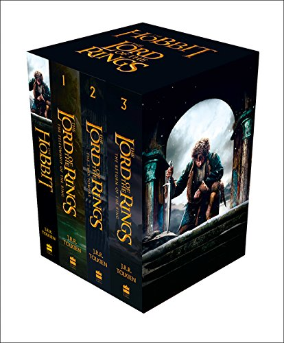 The Hobbit and The Lord of the Rings Boxed Set. Film Tie-In (Box Set of Four Paperbacks)