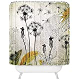 Nadine Davis Poster The World Deny Designs Iveta Abolina Little Dandelion Shower Curtain