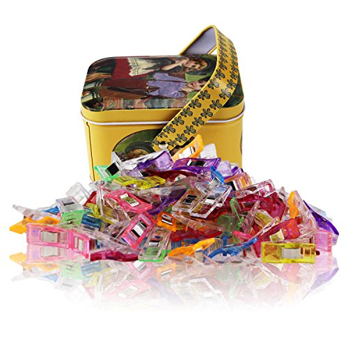MumCraft Multipurpose Sewing Clips with Tin Box 100-Ct for 7.64