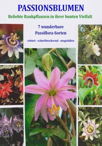 TROPICA - Samenset-Passionsblumen (Passiflora Mix) - mit 7 Tüten und 150 Samen