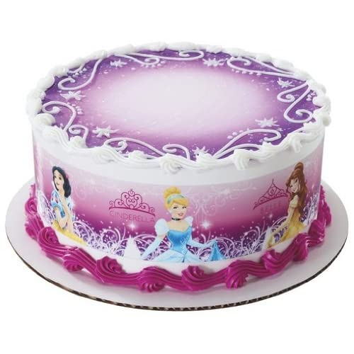 Disney Princess Edible Cake Border Decoration