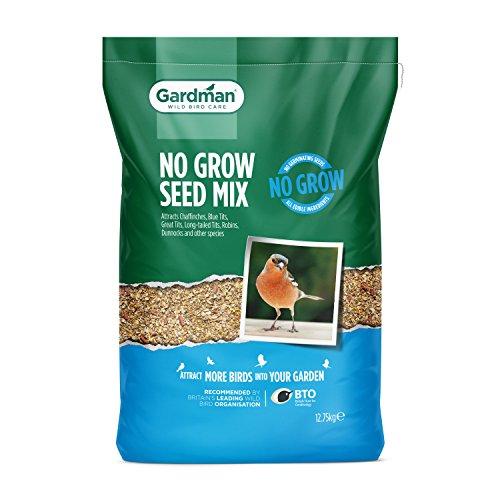 Gardman No Grow Seed Mix for Wild Birds - 12.75kg