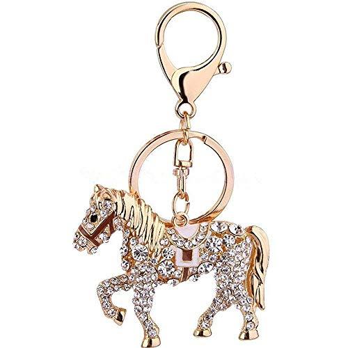 Horse Shape Women and Grils Opal Keychain/car Key Pendant