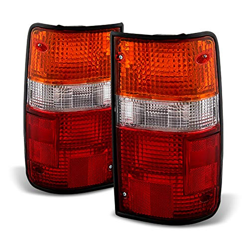 ACANII - For 1989-1995 Toyota Pickup Tail Lights Brake Lamps Replacement Left+Right 89-95