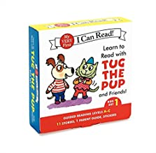 Learn to Read with Tug the Pup and Friends! Box Set 1: Levels Included: A-C (My Very First I Can Read)