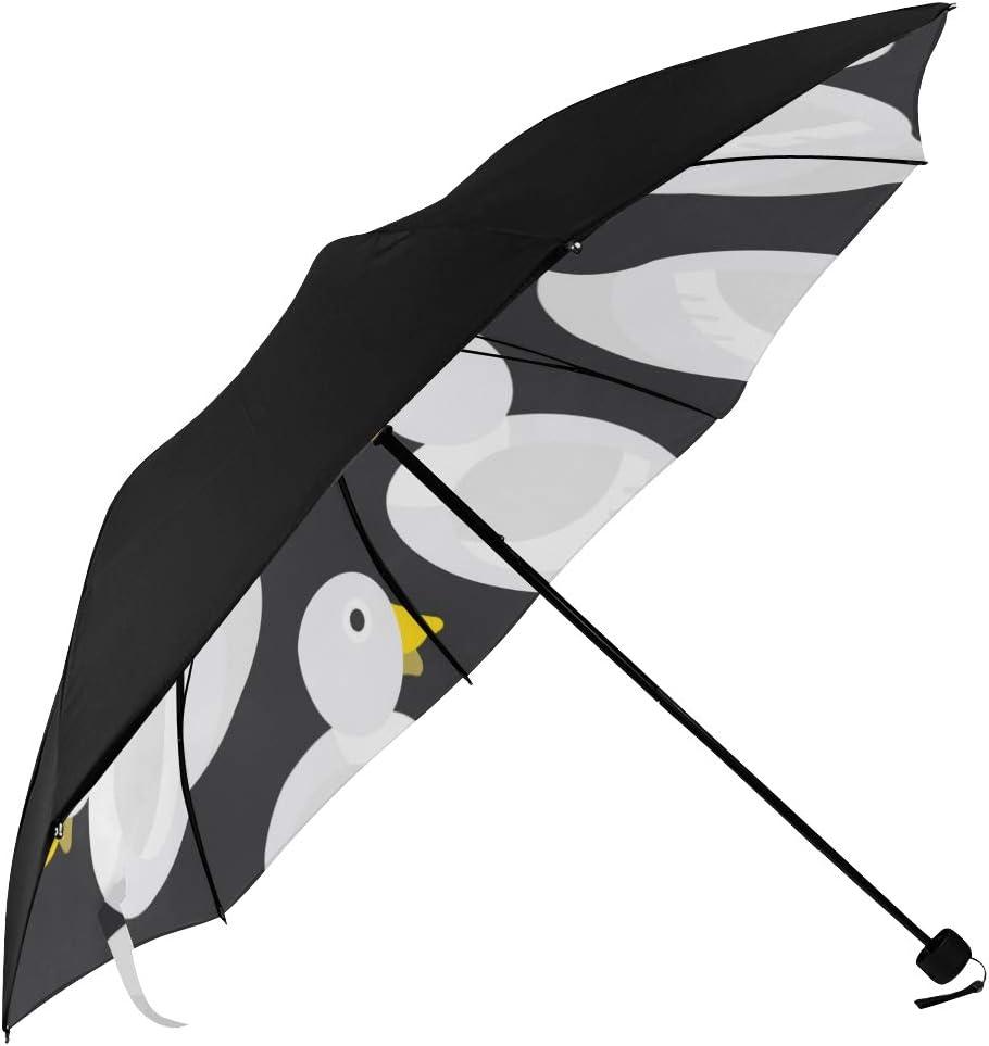 Foldable Umbrella Lightweight Swimming White Duck Snow Creature Oklahoma City Mall Mail order