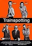 theissen trainspotting poster borderless vibrant movie poster - matte poster frameless gift 11 x 17 inch(28cm x 43cm)*it-00112