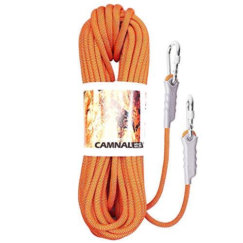LXYFMS - Cuerda de elevación para Escalada, para acampadas, Escalada, Escalada o Escalada, Resistente al Desgaste, Color Opcional, Cuerda de montañismo (Color: E, tamaño: 8 mm, 15 m)