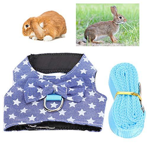 Redxiao Haustier Brustgurt, atmungsaktive Kleintier-Haustierbedarf, für Kaninchen(S Number)