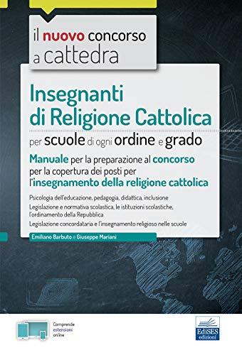 Concorso a cattedra insegnanti di religione