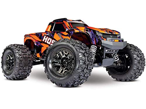 Traxxas 90076-4-ORNG Hoss 4X4 VXL: 1/10 Scale Monster Truck