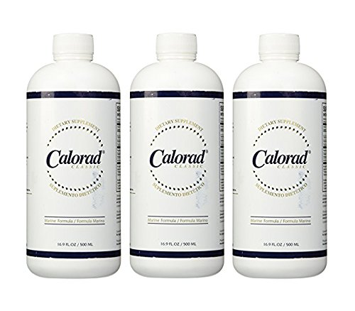 Calorad PM Collagen Weight Loss (16.9oz Marine) - 3 Pack