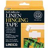 Lineco L5331015 L533-1015 Self Adhesive Linen Tape 1.25Inx35Ft, Multicolor