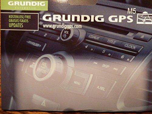 Grundig Auto Design M5 navigatiesysteem (12,7 cm (5 inch) display)