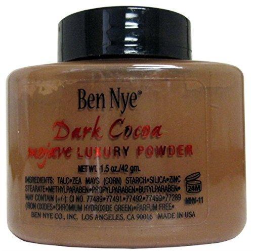 Ben Nye Mojave Luxury Powder 1.5 Oz Shaker - Dark Cocoa - Face Powders by Ben Nye