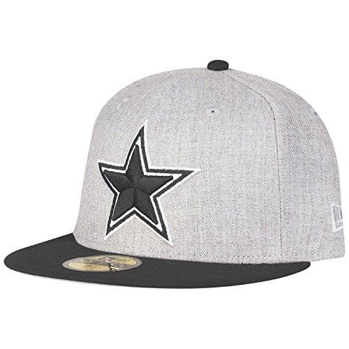 New Era 59Fifty - Gorra de Heather Dallas Cowboys, 7 1/4, color...