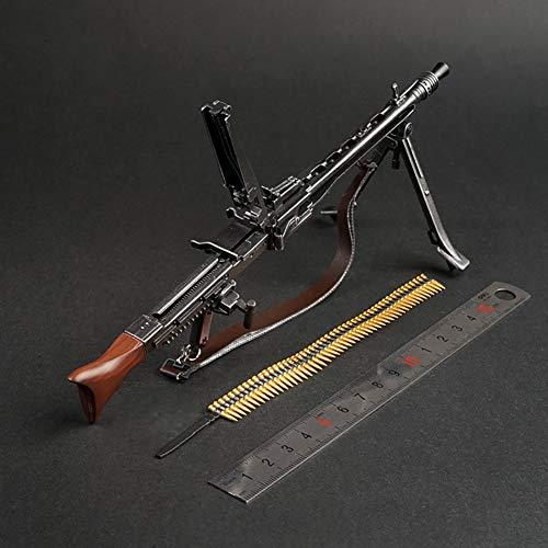 1/6 Figura De Acción Segunda Guerra Mundial MG42 Luz Máquina Modelo De Plástico Pistola No Launchable para PHICEN, Tbleague, Juguetes HT