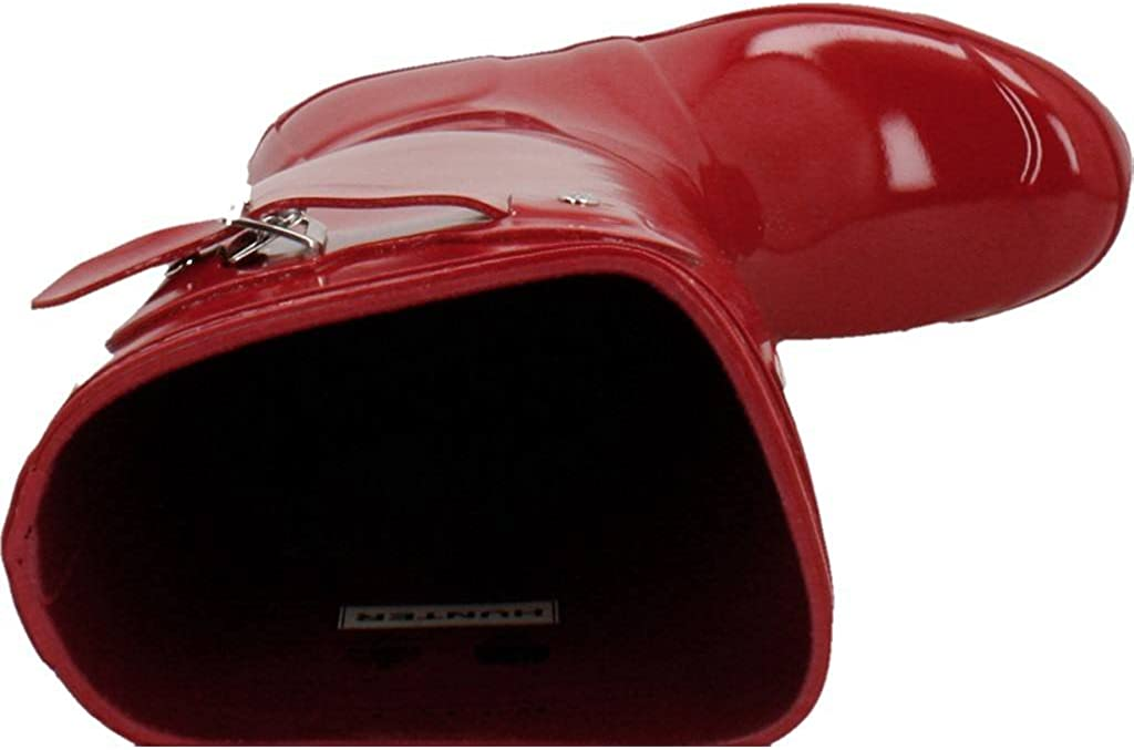 HUNTER Women's Original Gloss Snow Boot (6 M US, Military Red)