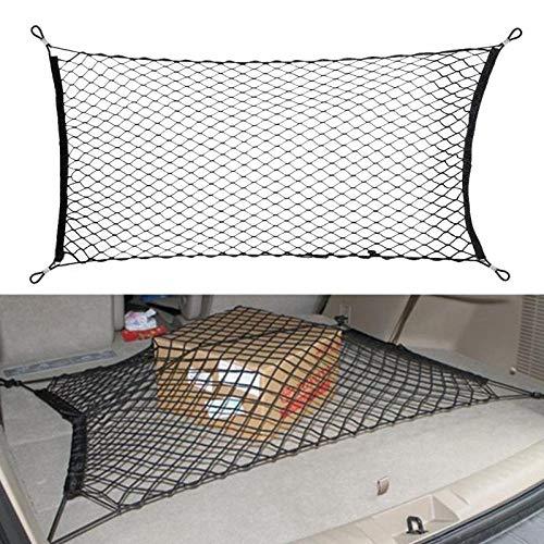 Tonyzhou Co.,ltd Car Styling Boot String Mesh Bag Elastic Nylon Car Rear Cargo Trunk Storage Organizer Luggage Net Holder Auto Accessory