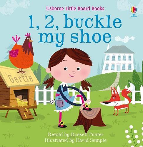 1, 2, Buckle my Shoe (Usborne Baby Board Books) (Little Board Books)