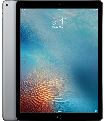 Apple iPad Pro Tablet (32GB, Wi-Fi, 9.7in) Gray (Renewed)