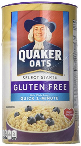 Quaker Oats Select Starts Quick One Minute Oaks GLUTEN FREE