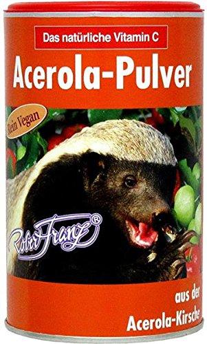 Vitamina C de Robert Franz - Polvo Acerola - Bote 175 gr