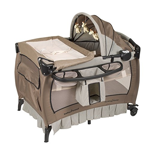 Baby Trend Deluxe Nursery Center, Haven Wood