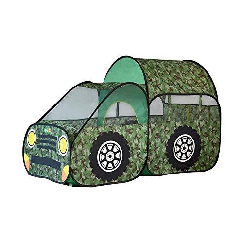 SHWYSHOP Tenda da Gioco per Bambini Mimetica, casetta per Bambini per Auto Pop-up Mimetica, Regali Giocattolo Portatili per Interni ed Esterni