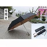 YLA Kopfschirm weiblich männlich Regen winddicht Regenschirm tragbar faltbar Regenschirm...