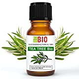 Tea tree Bio Olio essenziale 100% Puro Albero del te' 10 ml - Uso interno Terapeutico Alimentare Diffusori ambiente Aromaterapia Cosmetica - LaborBio