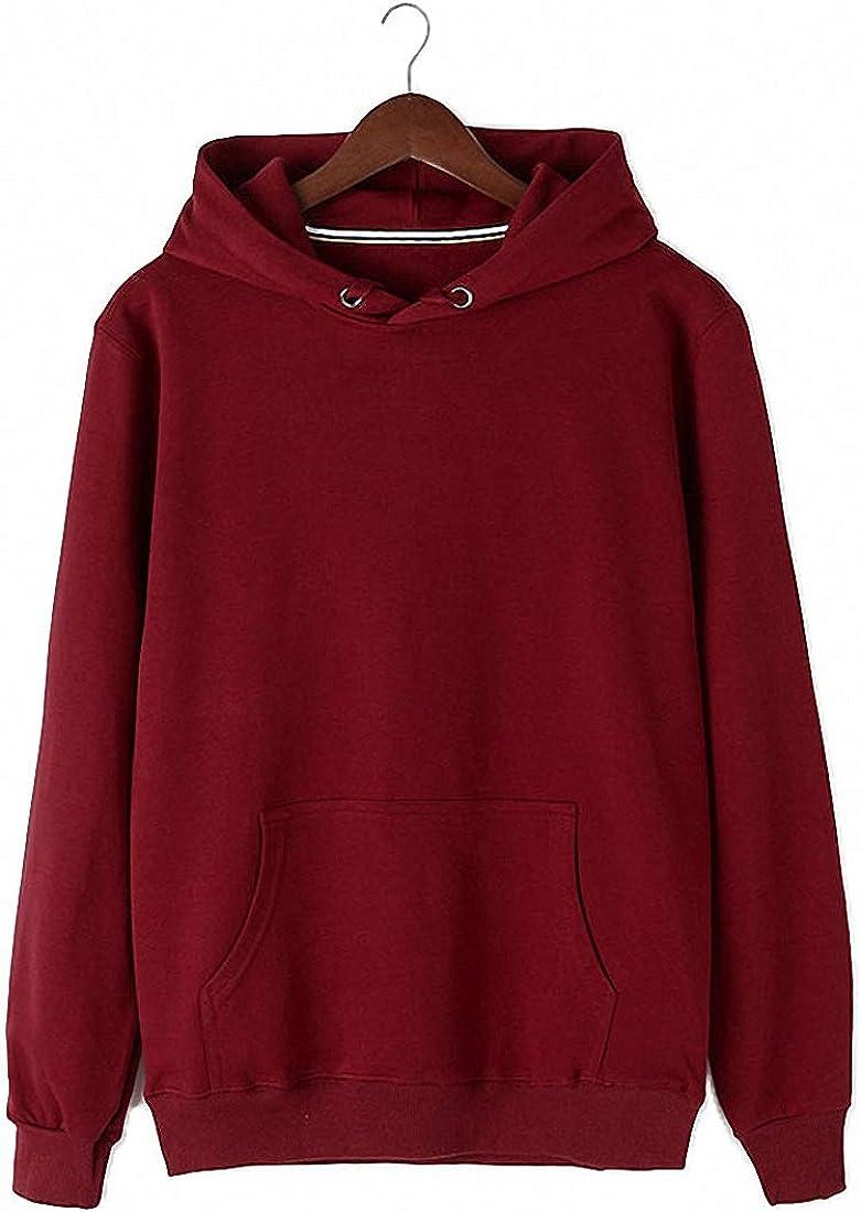 FASHINTY Men's Classical Cotton Sweatshirt Bargain sale Hoodie Virginia Beach Mall pullover