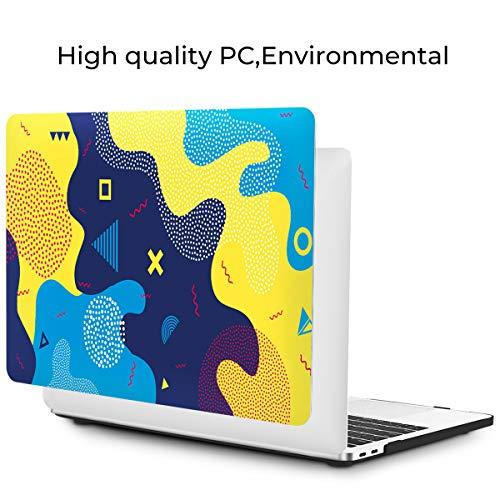 OneGET MacBook Pro 13 Zoll Hülle mit Touch Bar Laptop Hülle 2016 2017 2018 2019 Release A2159 A1989 A1706 A1708 MacBook Pro Cover für Cute MacBook Pro Case 13 Zoll Hard Shell Art Design (S9)