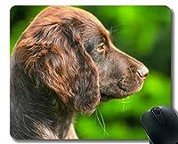 YENDOSTEENゲームマウスパッドカスタム、レイクランドテリア犬テリア血統かわいい子犬パーソナライズされた四角形ゲームマウスパッド