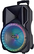 Portable Bluetooth Speaker, LED Lights, 12