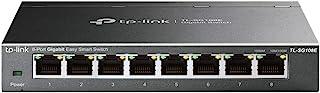 TP-Link 8 Port Gigabit Switch | Easy Smart Managed | Plug & Play | Lifetime Protection | Desktop/Wall-Mount | Sturdy Metal...