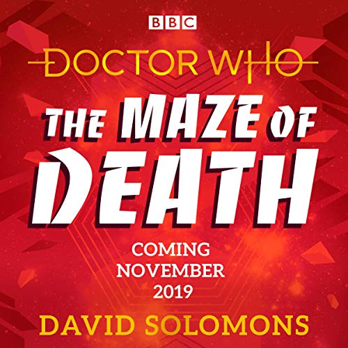 Doctor Who: The Maze of Death audiobook cover art