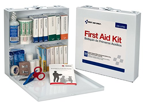 First Aid Only Bulk First Aid Kit Metal Case 226U/FAO
