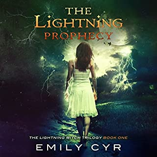 The Lightning Prophecy audiobook cover art