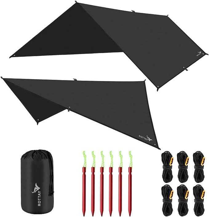 Rottay Waterproof Camping Tarp - Best Design
