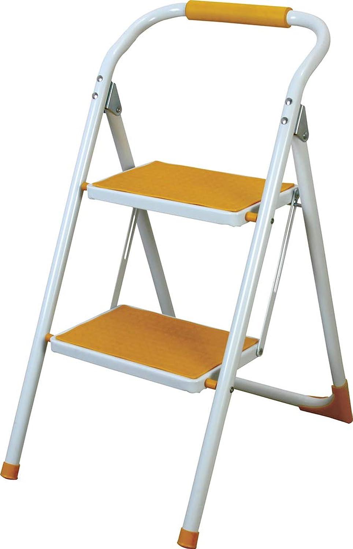 Con 100% de calidad y servicio de% 100. Azumaya taburete de paso plegable plegable plegable escalera amarillo lfs-007ye  encuentra tu favorito aquí