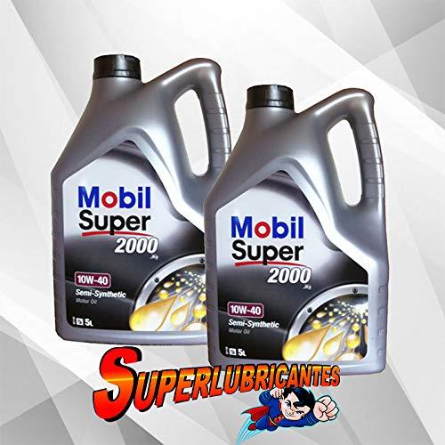 Mobil 1 Super 2000 X1 10W40 2x5L(10Litros)