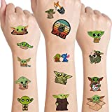 Cute Alien Temporary Tattoos Art Craft Party Favors Party Supplies for Kids Alien Theme Birthday Party Baby Shower Yoda Fake Tattoos School Reward, Birthday Gifts
