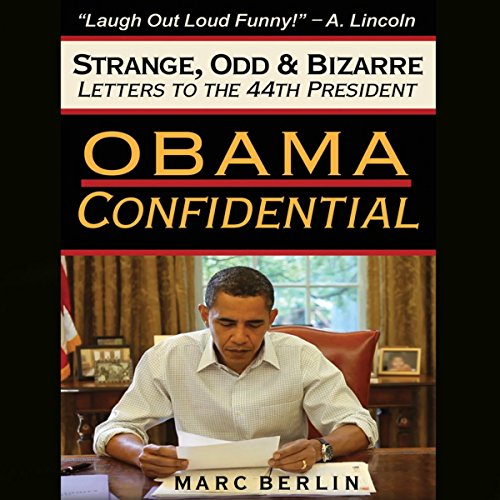 Obama Confidential audiobook cover art